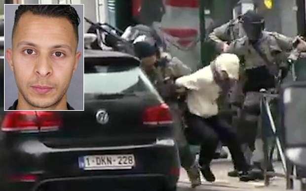 Salah Abedeslam's arrest