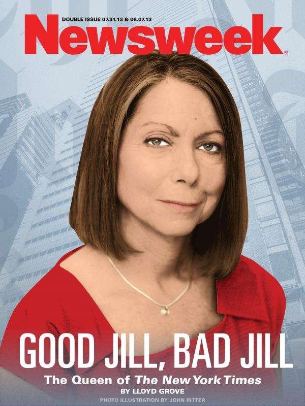"""Looks like """"bad Jill"""" won.     Newsweek"""