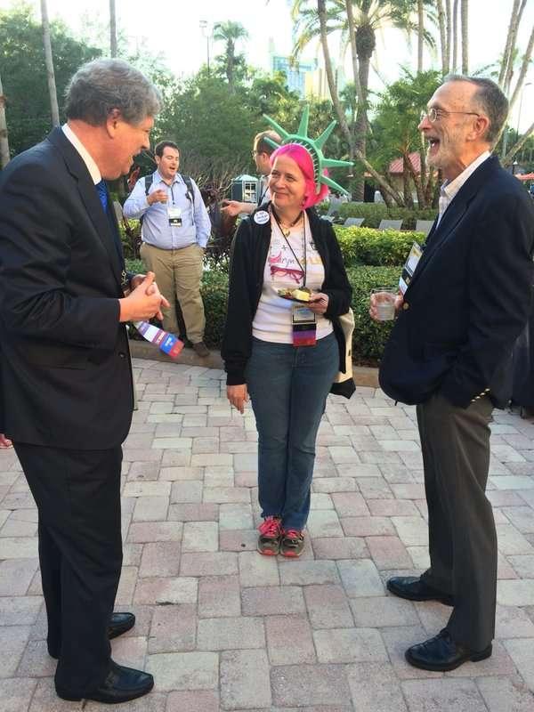 Democracy in action in Orlando.     Matt Welch