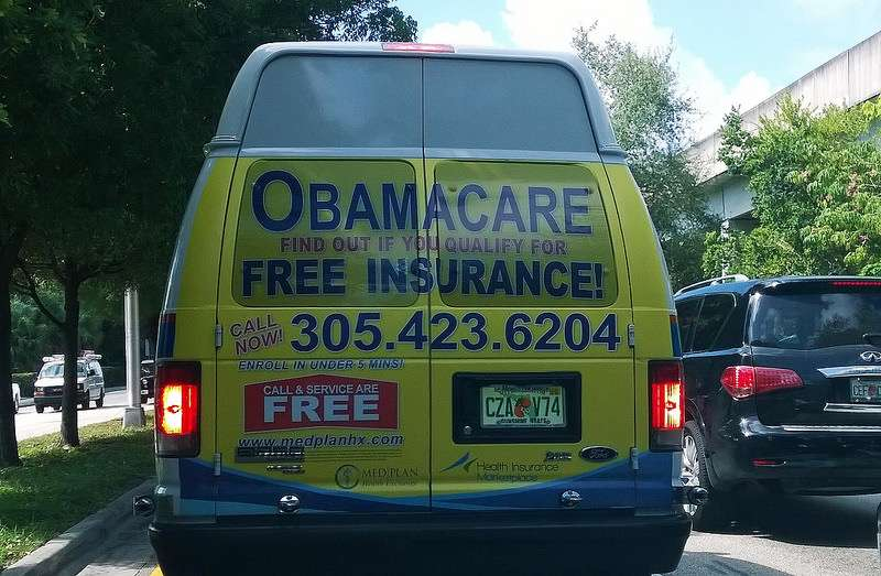 Obamacare van