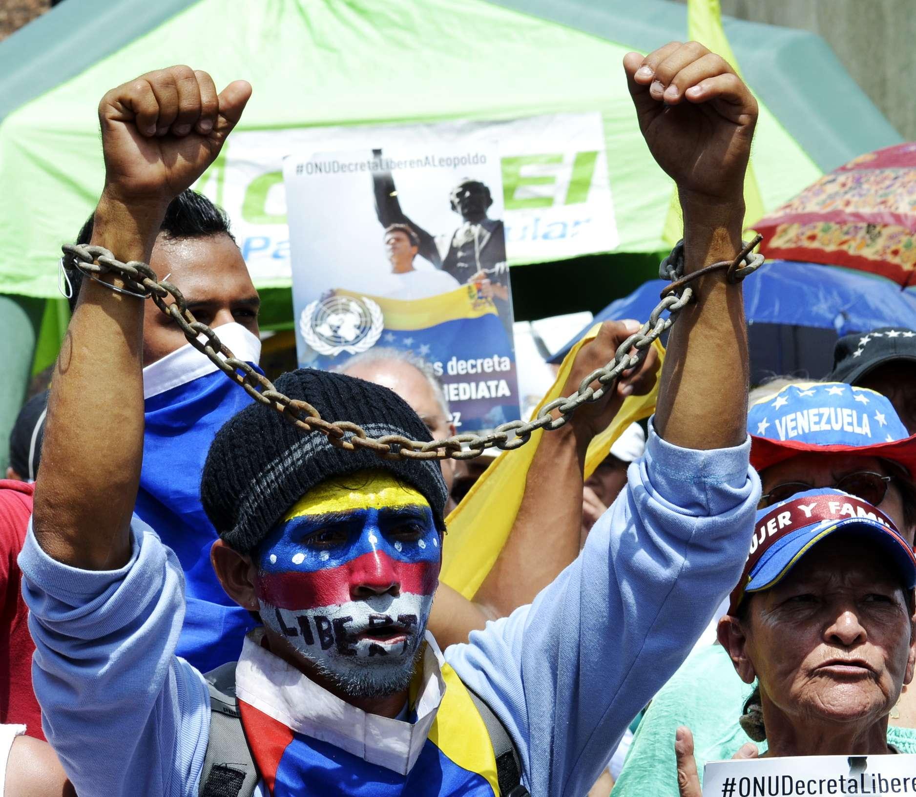 Reality has an anti-Chavista bias.