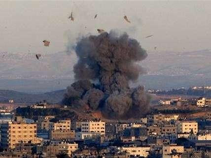 Gaza explodes.