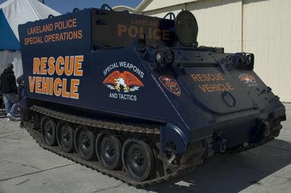 Rescue Tank