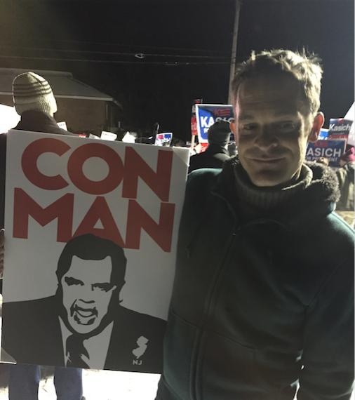Christie Con Man