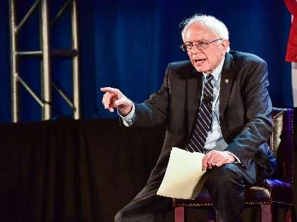 Bernie, not at AIPAC