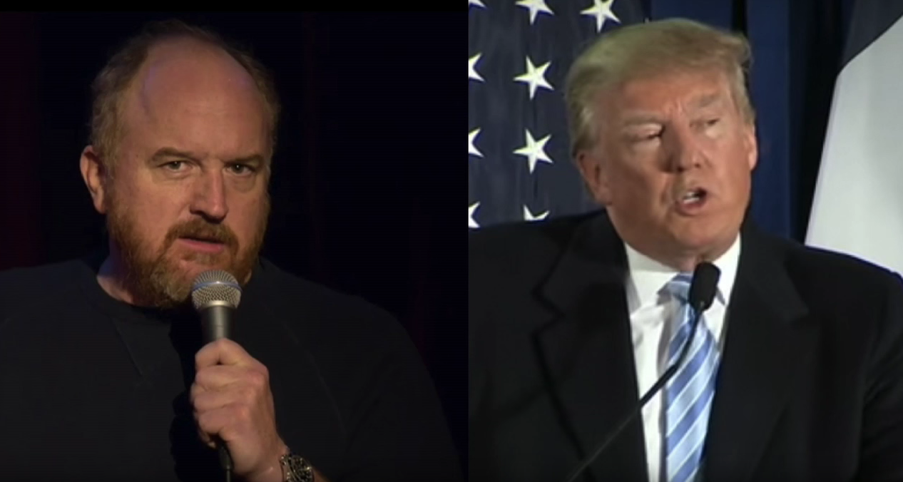 Louis CK and Donald Trump