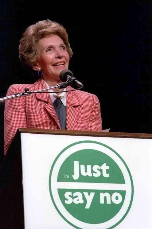 Nancy Reagan Just Say No