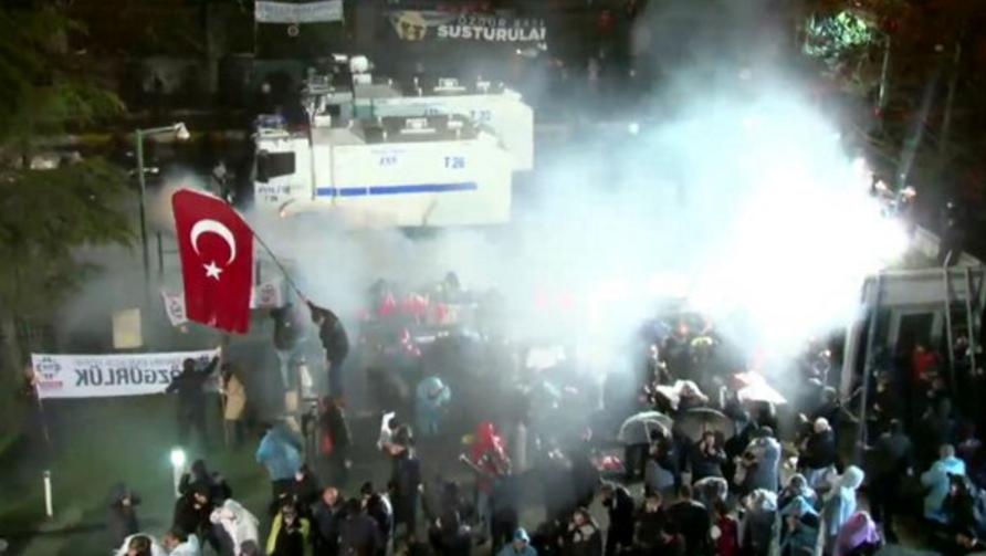 Turkey Tear Gas Zaman