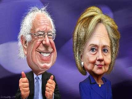 Bernie and Hillary, besties