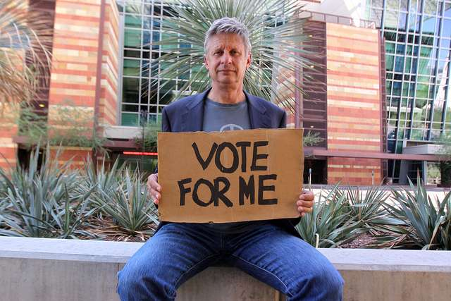 Gary Johnson Wants YOU to vote LP