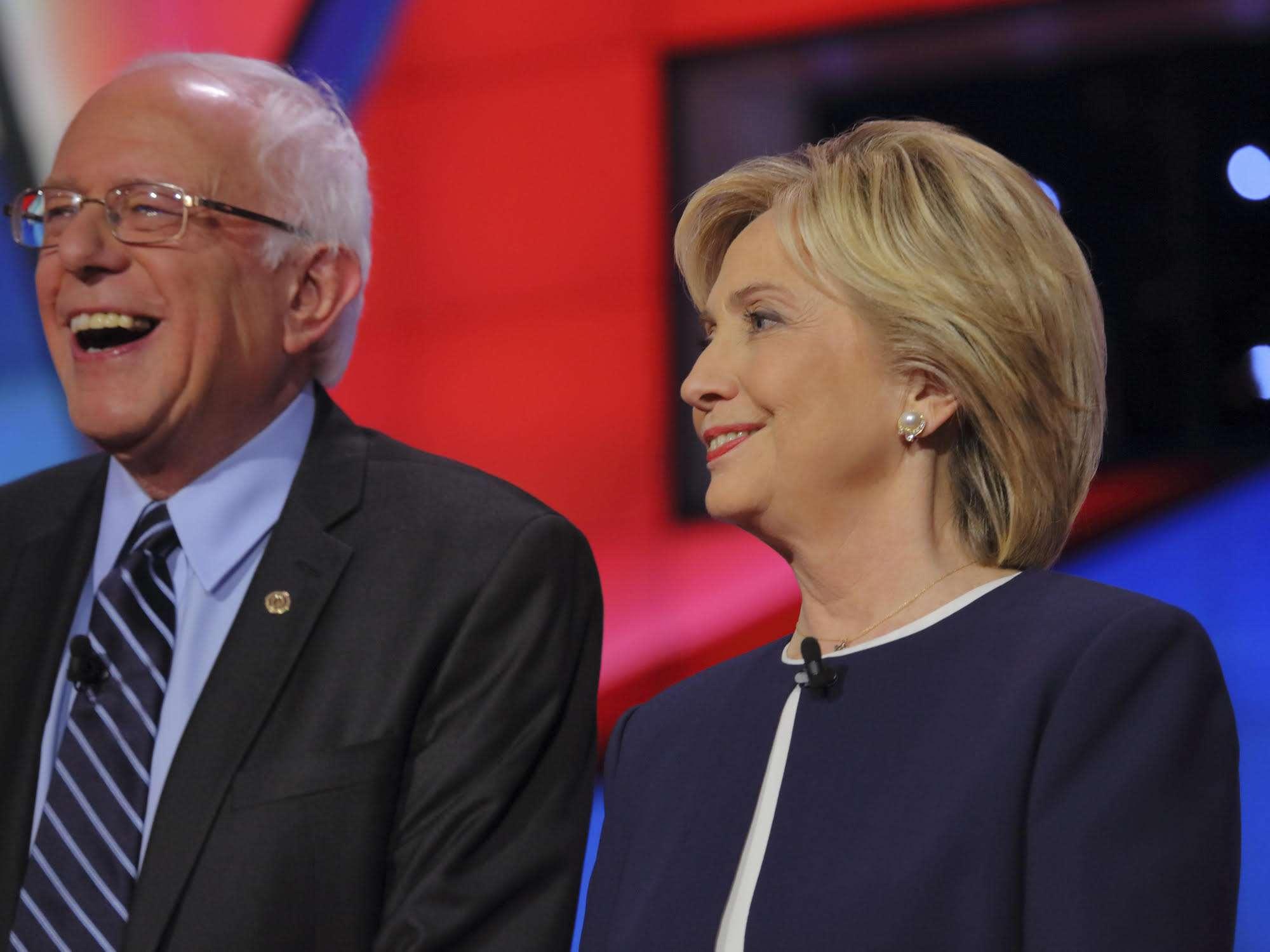 Kiss the ring, Bernie.
