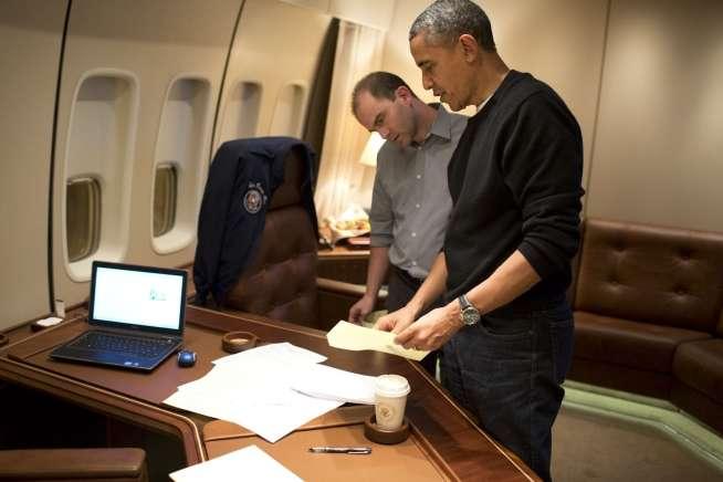 Ben Rhodes and President Obama
