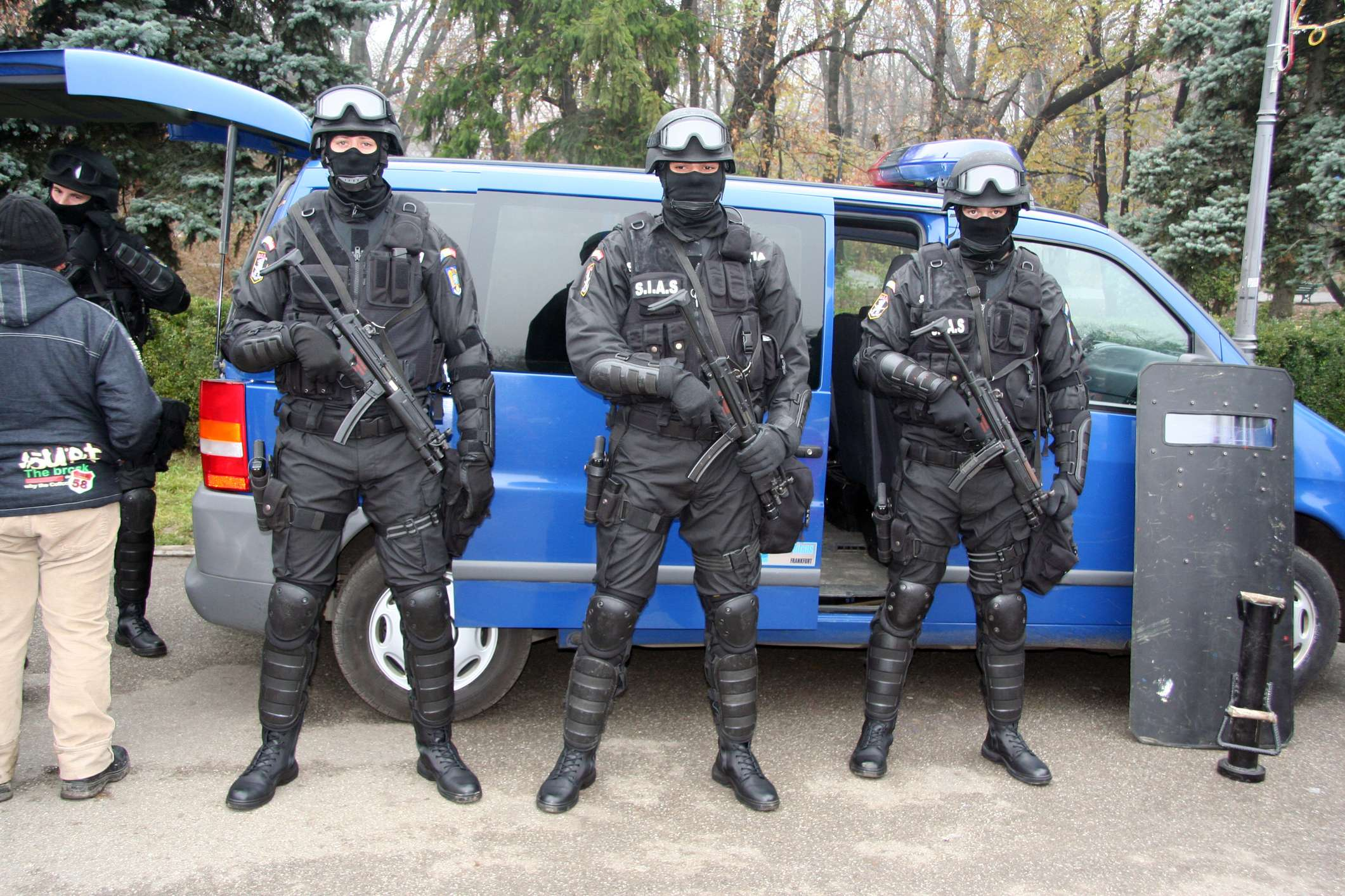 2015 was a very good year for militarized police forces.