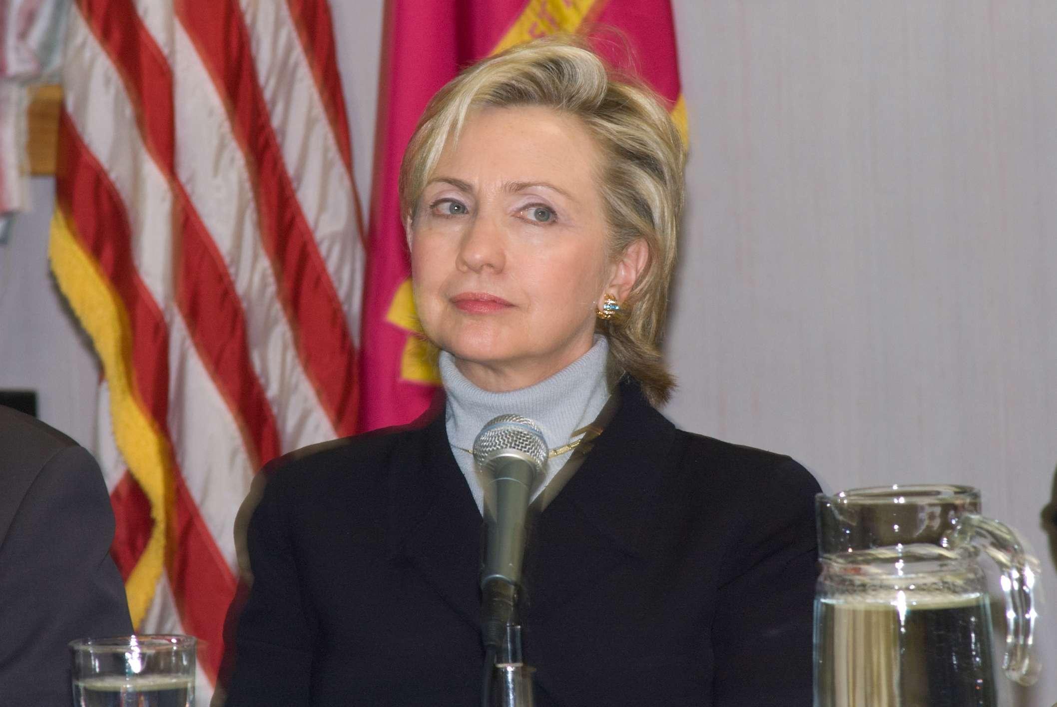 Hillary Clinton's got friends.