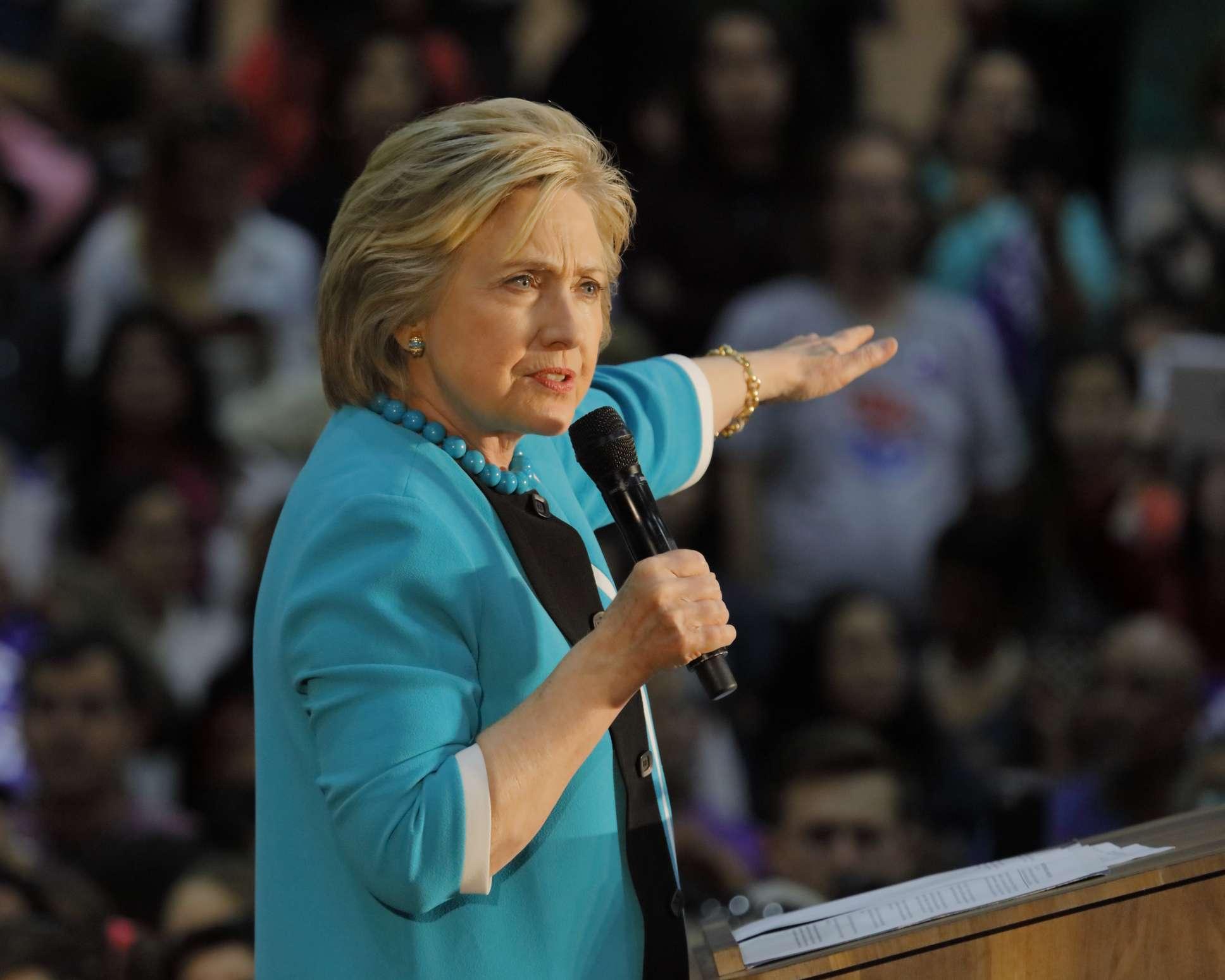 Hillary skates again