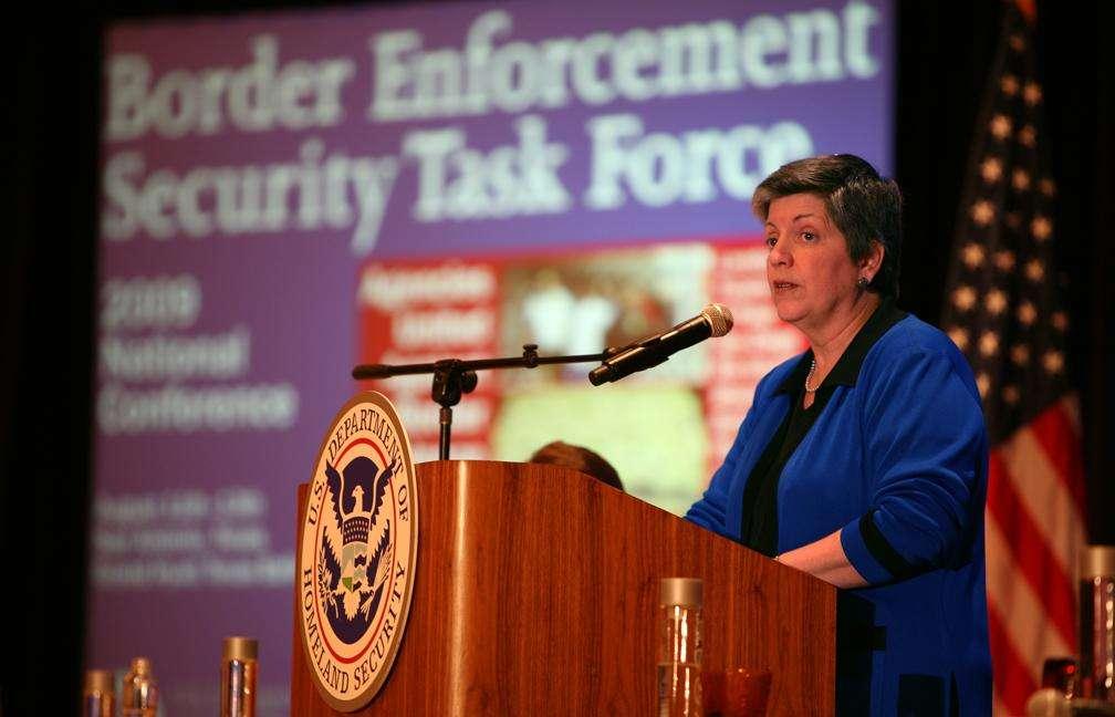 Janet Napolitano, free speech warrior?