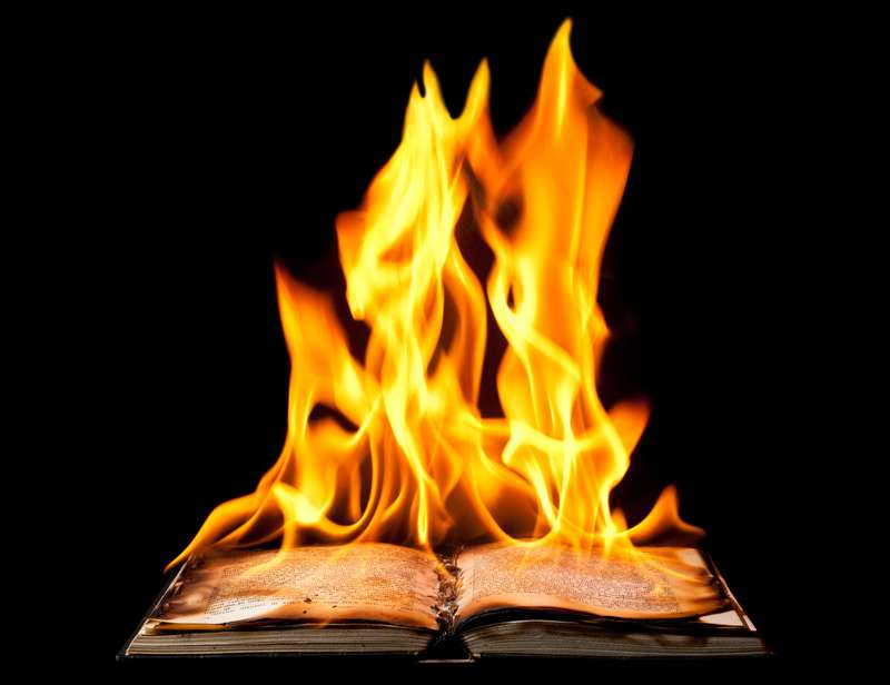 How do we sleep while our books are burning?