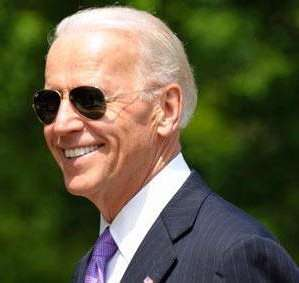 Joe Biden doesn't need help to look cool.