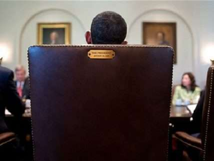 obama's chair