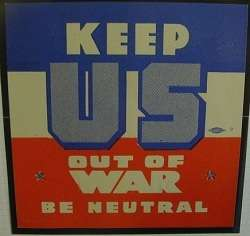 wilson's campaign motto during world war i