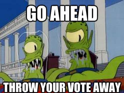 don't blame me i voted for kodos