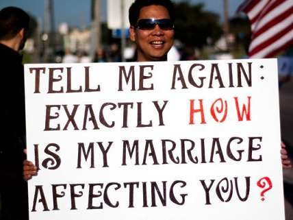 and why is the government affecting our marriages?