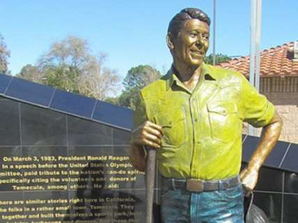 you know who else painted statues?