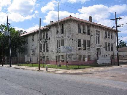 one of the first free schools in new orleans, funded by the estate of a deceased philanthropist