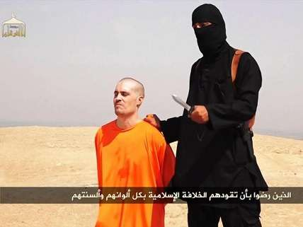 James Foley about to be beheaded
