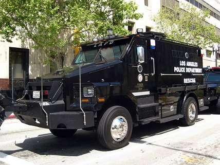 LAPD Rescue Truck