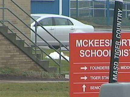 Mckeesport Area School District sign