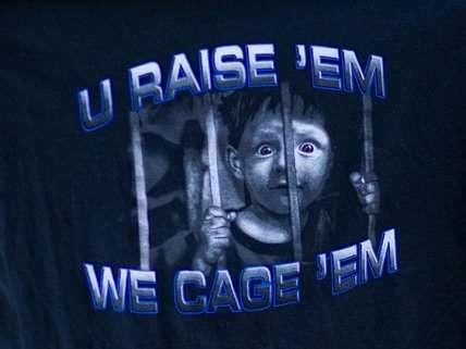 U Raise Em We Cage Em t-shirt