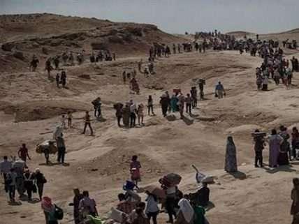 Yazidis on Sirjan Mountain
