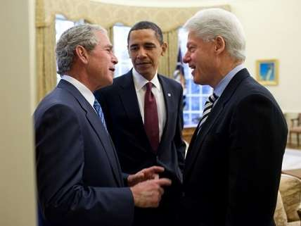 Bush, Obama, Clinton
