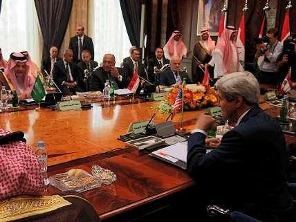 John Kerry at GCC Meeting