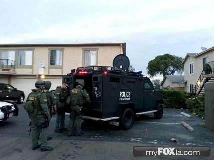 Gang-related raid, Oxnard, November 2013