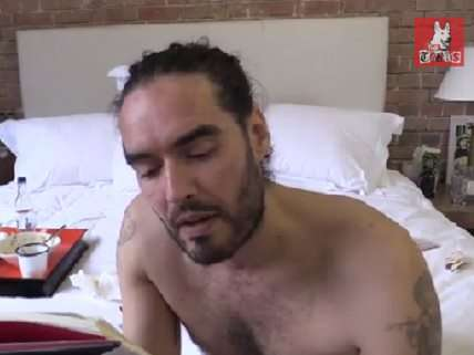 Russell Brand reads from his book
