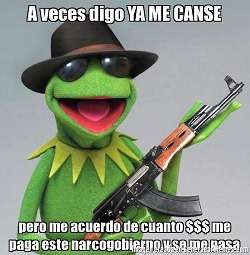 Kermit meme from Mexico
