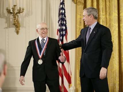 Ralph Baer at the White House