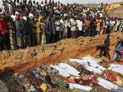 mass grave in baga