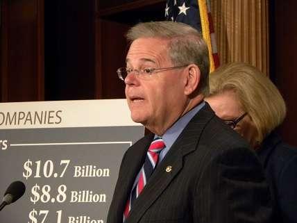 Sen. Bob Menendez fearmongering over some companies