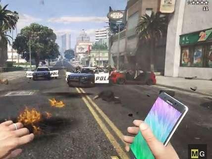 Samsung Tries to Use DMCA to Take Down GTA V Mod with