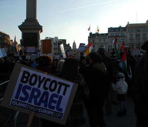 International boycotts of Israel have finally garnered a response.