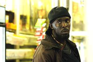 Michael K. Williams as Omar Little in HBO's The Wire