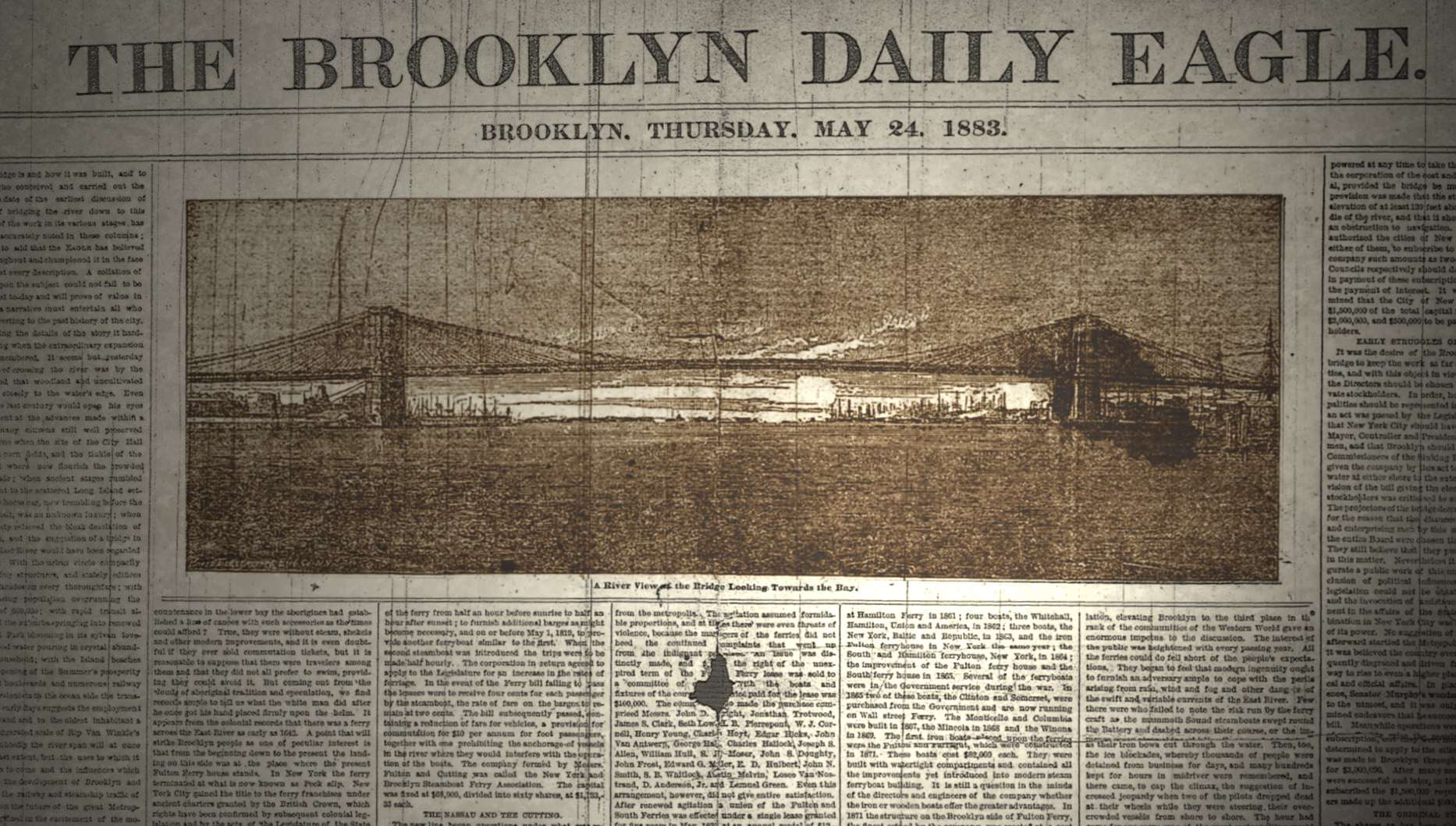 The Brooklyn Daily Eagle: Once among the most influential newspapers in the U.S.