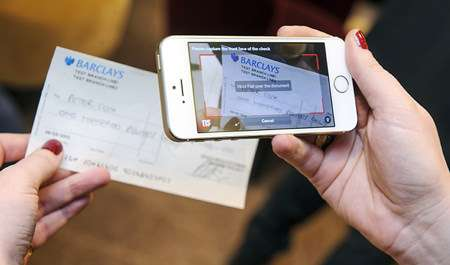 Barclays' Mobile Check Depositing App |||