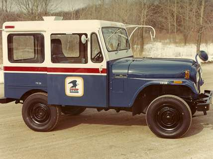 U.S. Postal Service Delivery Truck |||