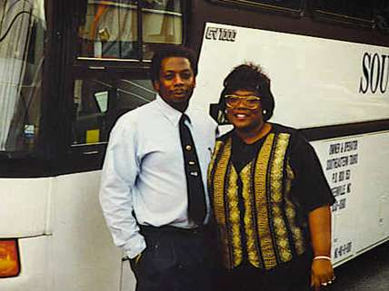 Jeff and Judy Rodgers, owners of Southeastern Tours, 1994. |||