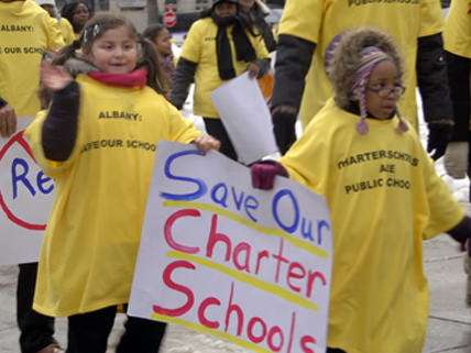 Charter school students rally in Albany |||