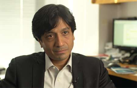 NYU Professor Arun Sundararajan, who's an expert on the sharing economy. |||